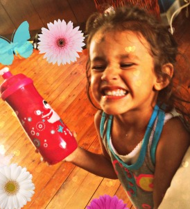 My angel loves her NUK Sport bottle